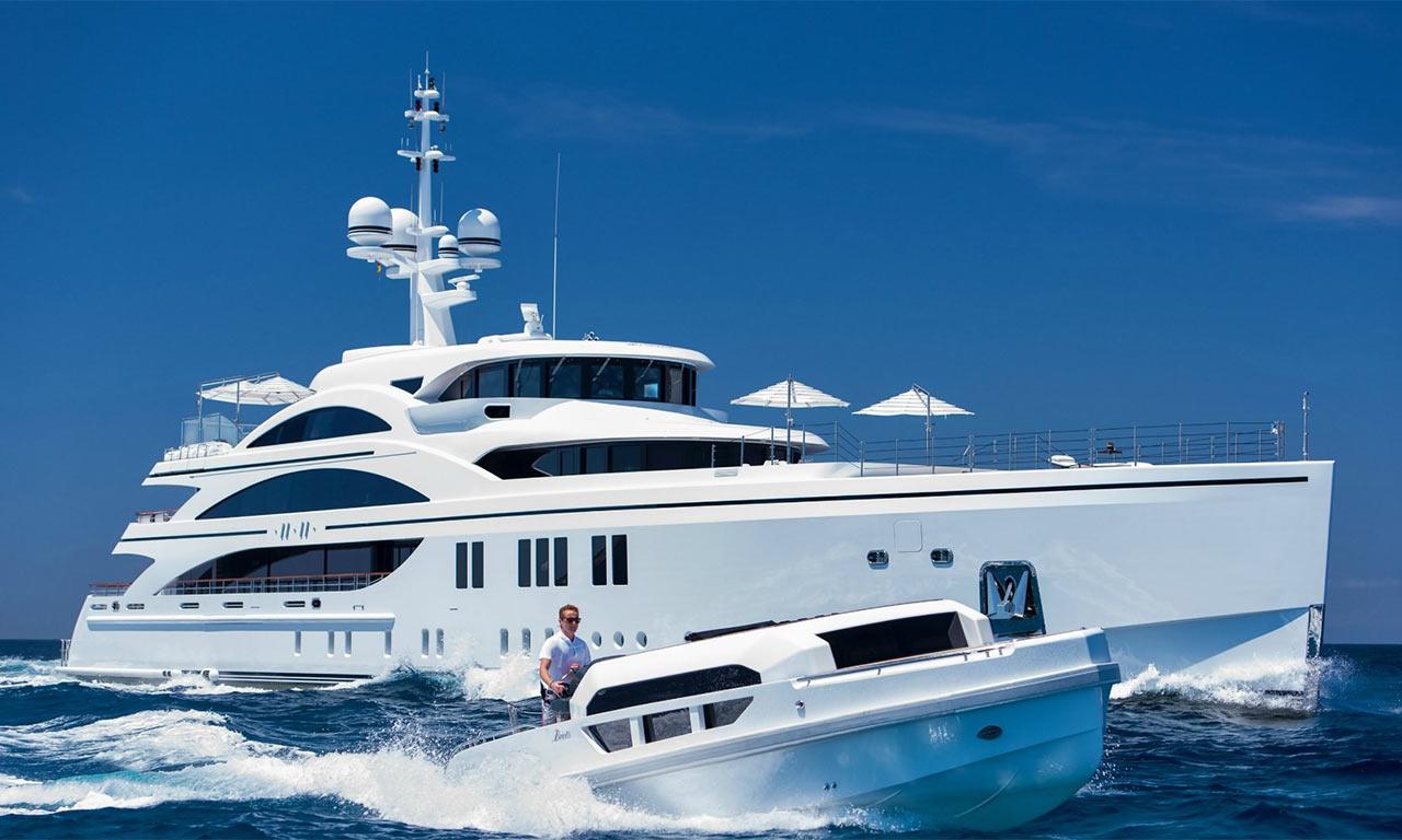 Чартер/аренда супер  и мега яхт в Сочи